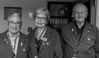 Three members of the UOHI Auxiliary