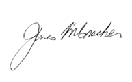 Signature de James G. McCraken