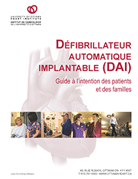 Défribrillateur automatique implantable : Guide à l'intention des patients et des familles