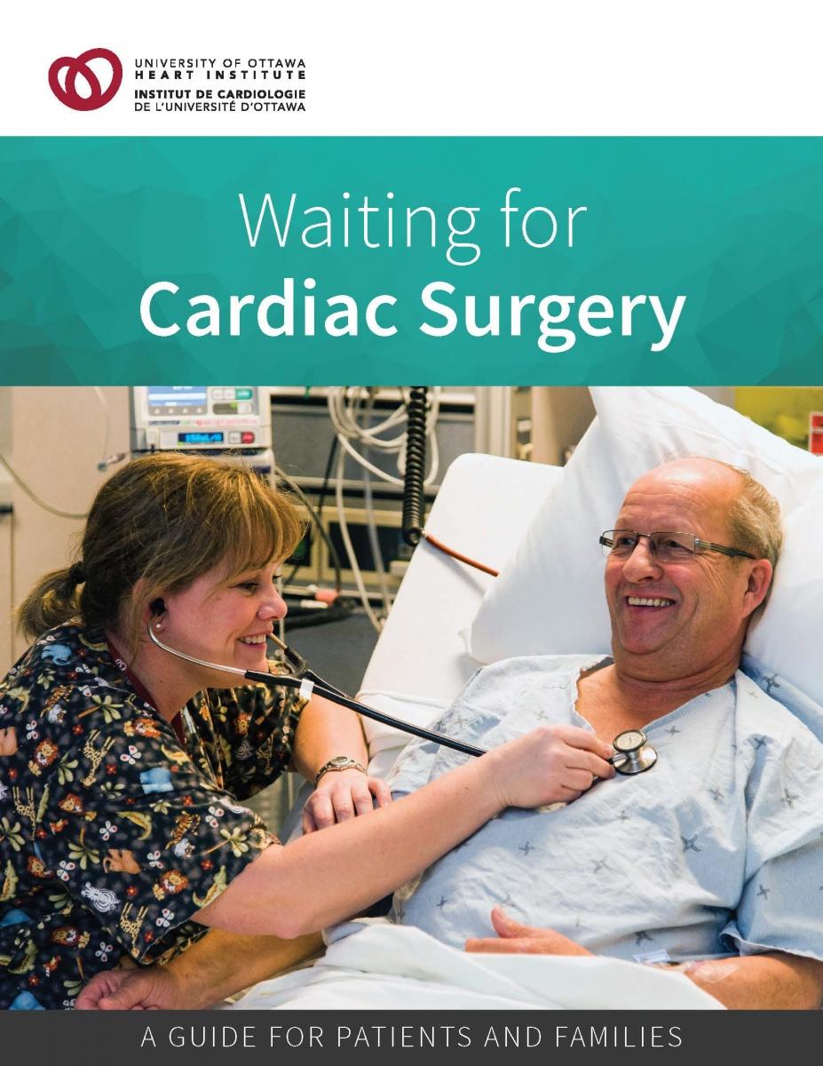 Waiting for Cardiac Surgery - University of Ottawa Heart