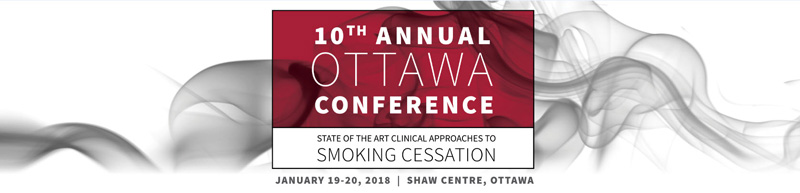 Banner image for the Ottawa Conference on Smoking Cessation