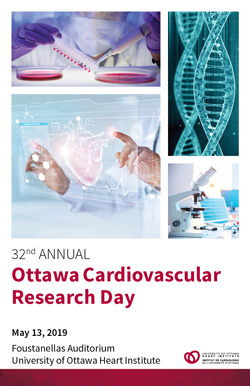 Ottawa Cardiovascular Research Day 2019 Save the date