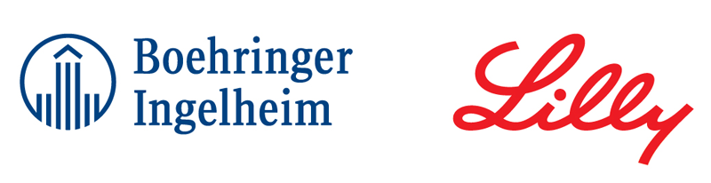 Logos: Boehringer Ingelheim and Lilly