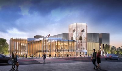 National Arts Centre artist rendering