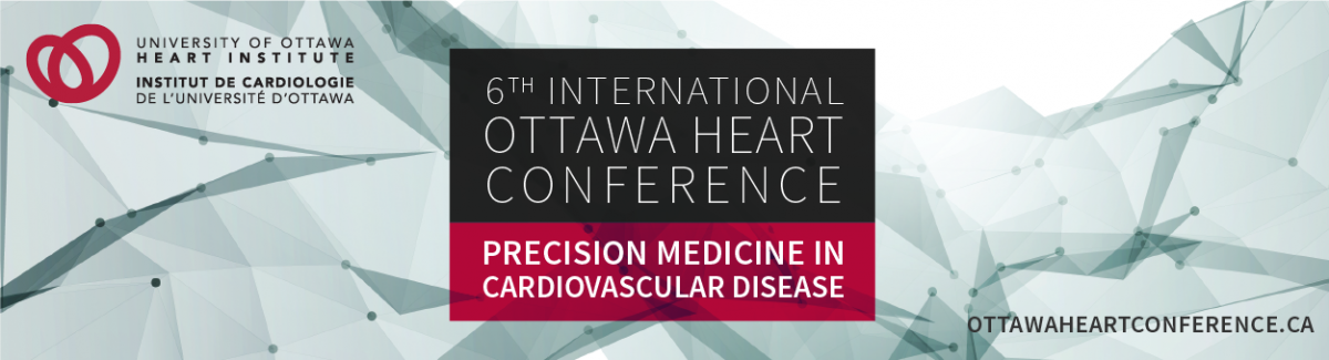 6th annual International Ottawa Heart Conference banner