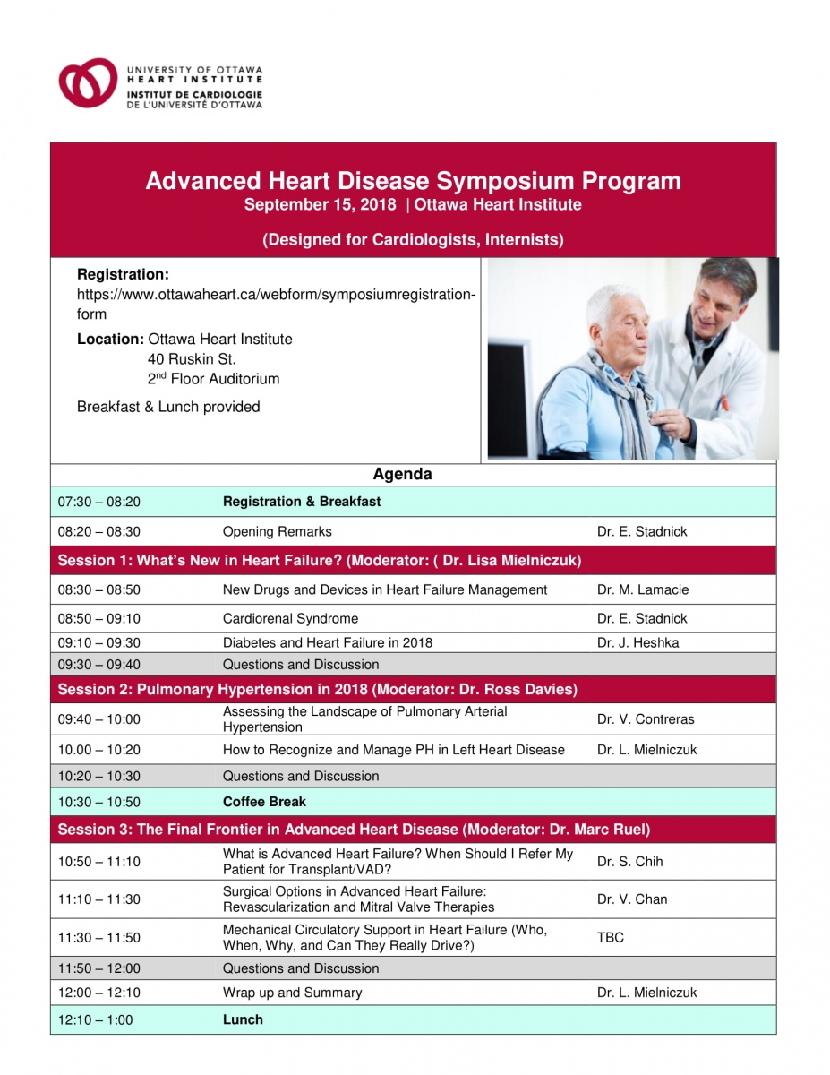 Heart Failure Symposium Agenda