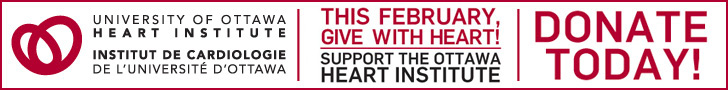 February is Heart Month banner. Donate today.