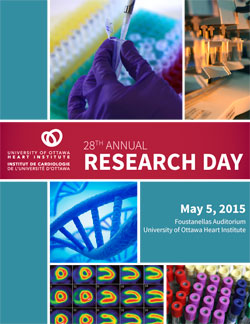 28th Annual Research Day Graphic