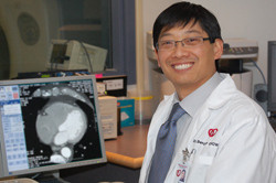 Dr Benjamin Chow research into computed tomography (CT) proves the technology is a fast, effective alternative to more invasive techniques used to identify and prevent a heart attack and death