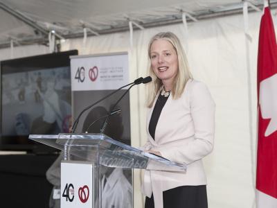 Founders' Breakfast: Catherine McKenna, Minister of Environment and Climate Change