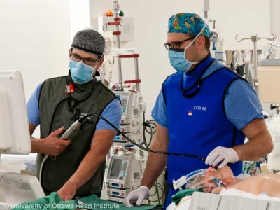Training an anesthesiology resident on TEE