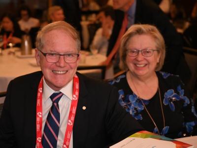 Dr. Ross Davies (left)