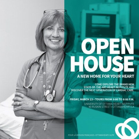 Community Open House poster