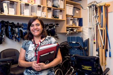 Linda Varas-Brule, Occupational therapist