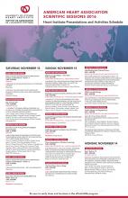 2016 AHA UOHI Presentations and Activities Schedule