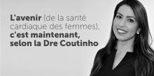 La Dre Thais Coutinho, chef de la Division de prévention et de réadaptation cardiaque à l'Institut de cardiologie de l'Université d'Ottawa.