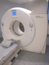 CT scanner at the UOHI.
