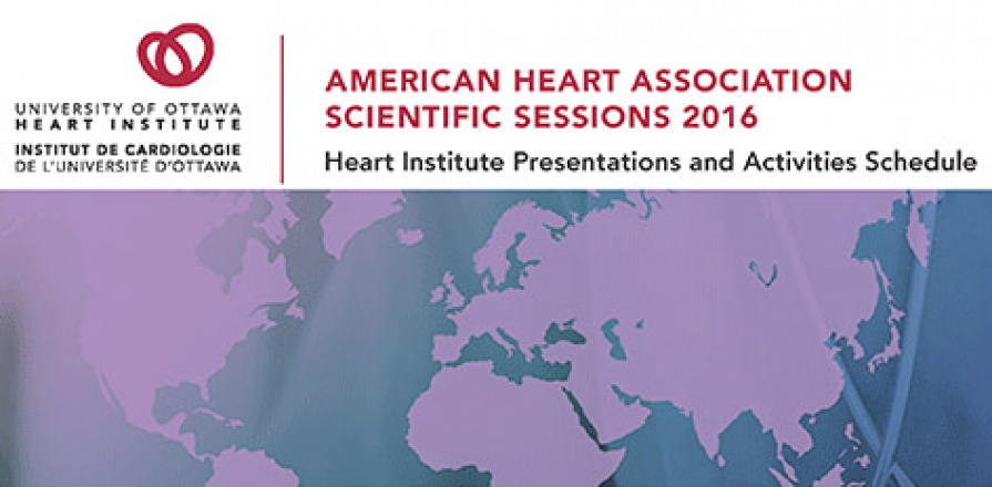 Séances scientifiques 2016 de l'American Heart Association (AHA)
