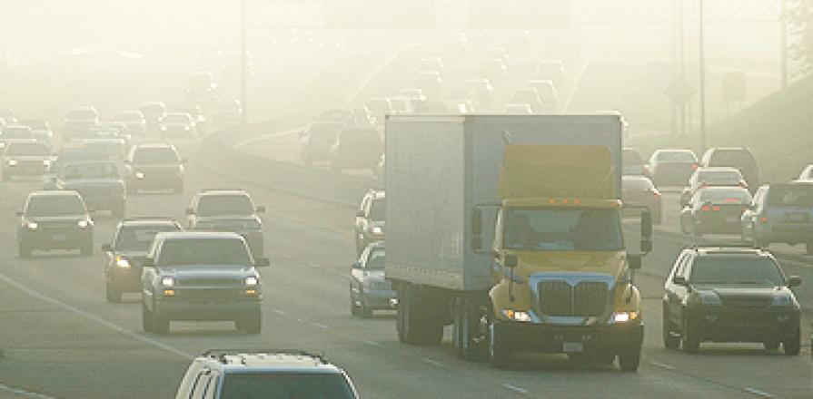 Circulation automobile et la pollution de l'air