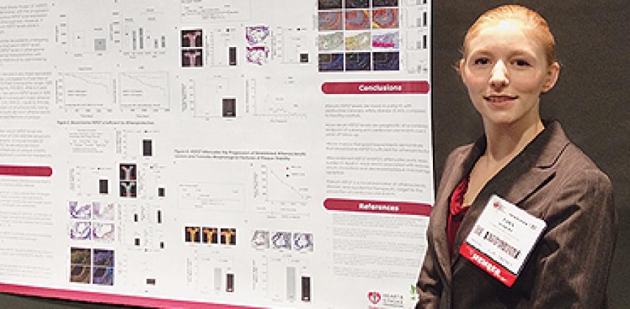 Tara Seibert, étudiante au doctorat