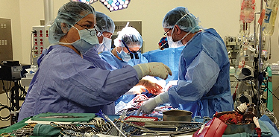 Heart Transplants Operating Room