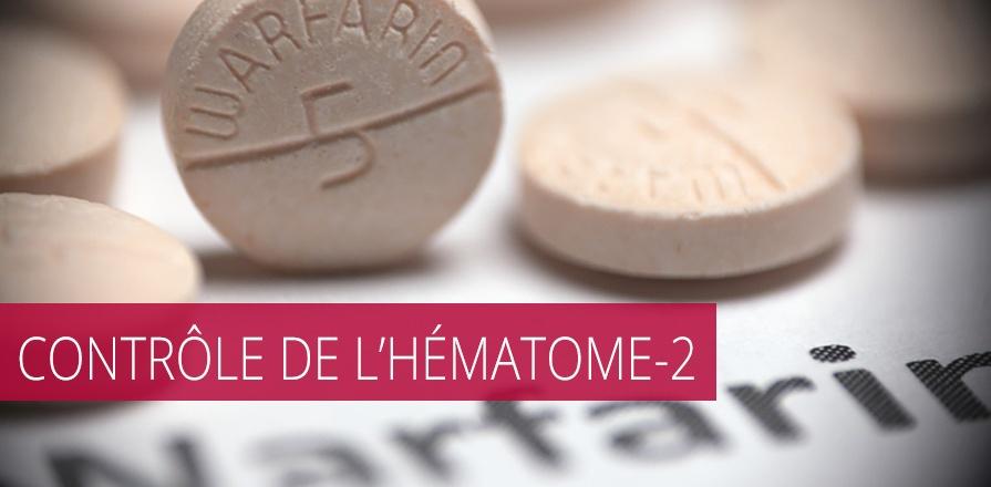 Bannière pour Contrôle de l'hématome-2