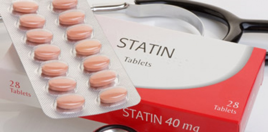Packaging of Statin tablets