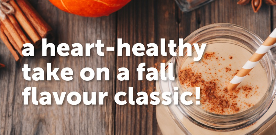 A Heart-Healthy Take on a Fall Flavour Classic