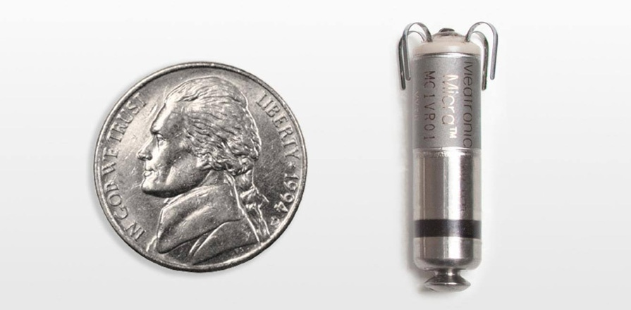 No bigger than a large vitamin capsule or an American nickel, new leadless transcatheter pacing systems are almost twenty times smaller than traditional models.