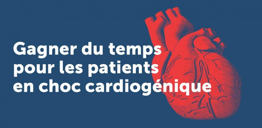 Gagner du temps pour les patients en choc cardiogénique