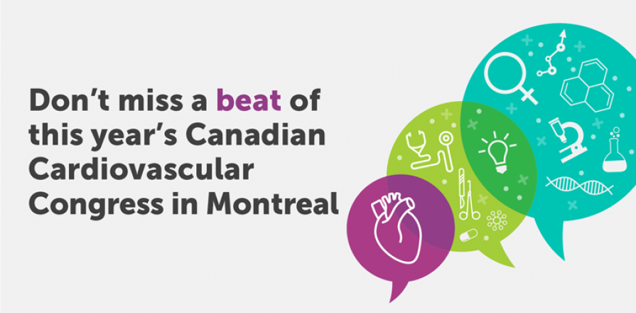 Don't Miss a Beat of this Year's Canadian Cardiovascular Congress in Montreal