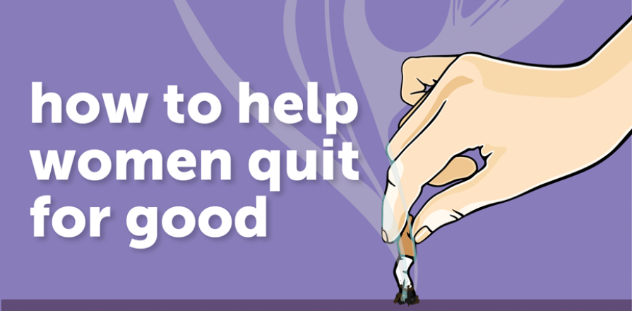 Banner image: How to help women quit for good