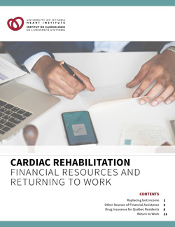 Cardiac Rehabilitation: Financial Resources and Returning to Work