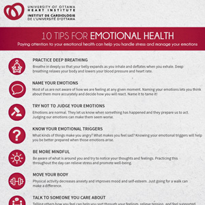 Top Ten Tips for Emotional Health