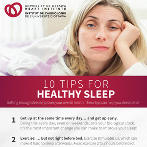 10 Tips for Healthy Sleep