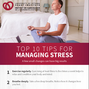 Top 10 Tips for Managing Stress