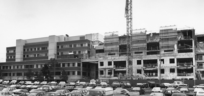 Construction of Phase 3 of the Ottawa Heart Institute, 1987-89