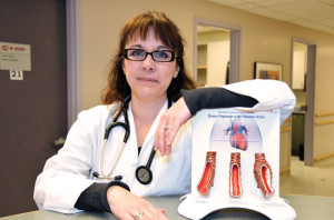 Carolyn Pugliese is the advanced practice nurse for pulmonary hypertension at the University of Ottawa Heart Institute.